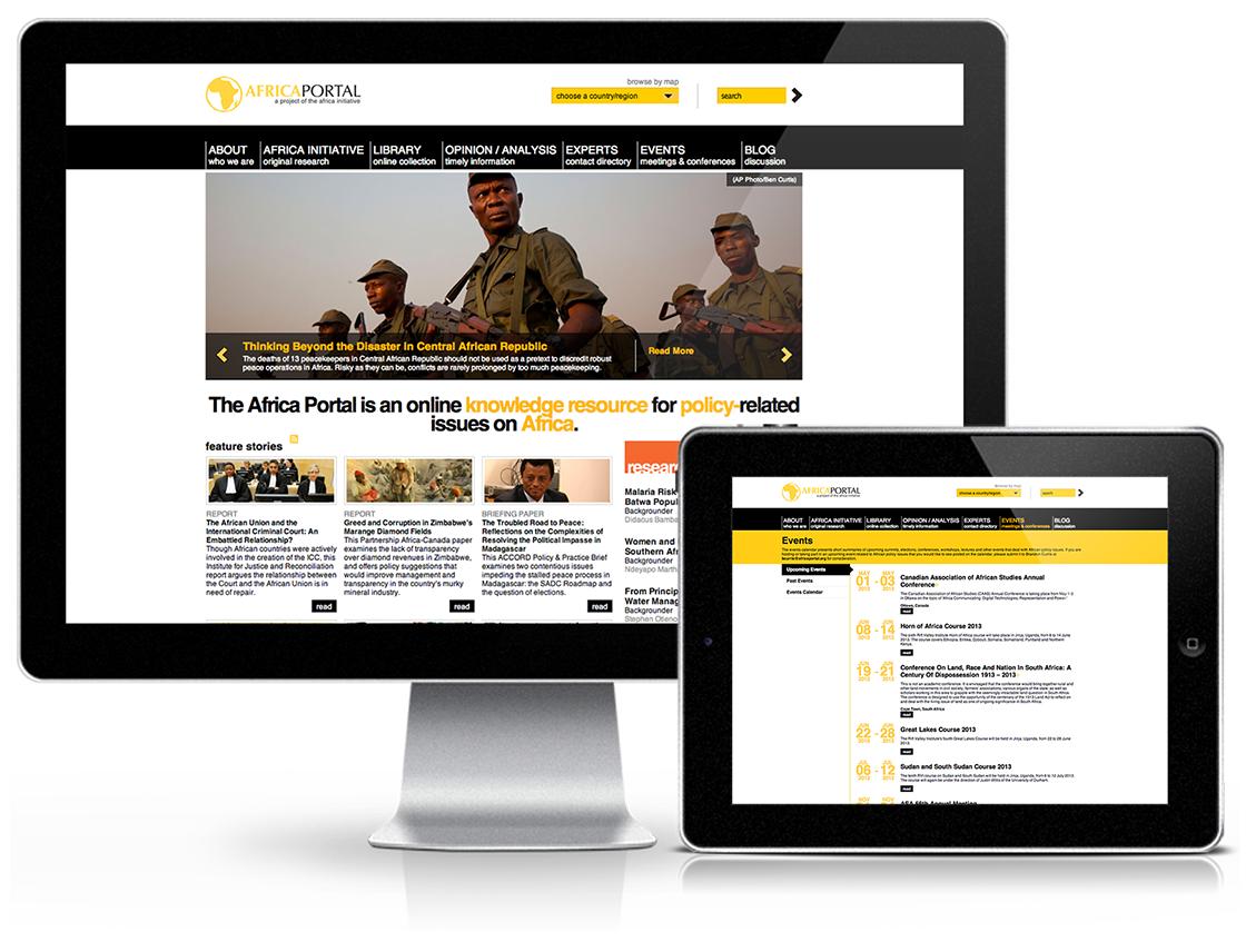 Centre for International Governance Innovation Africa Portal