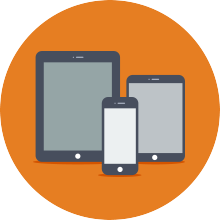Mobile and Responsive User Interface
