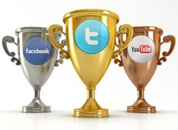 social media, trophy, sports marketing,