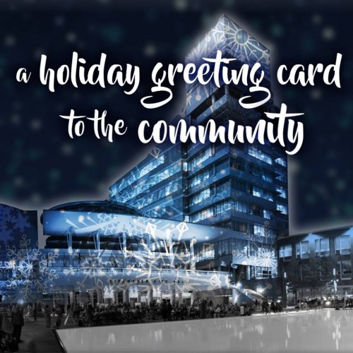 Christie Digital Holiday greeting to the community