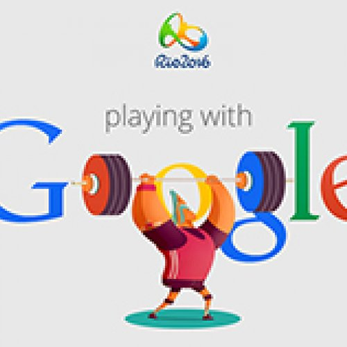 Google doodle for the Rio Summer Olympics 2016