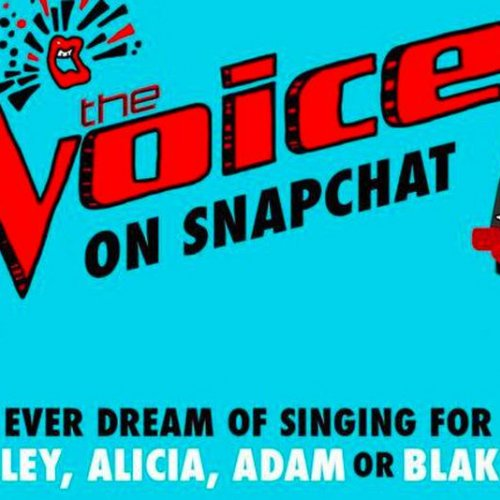 The Voice on Snapchat